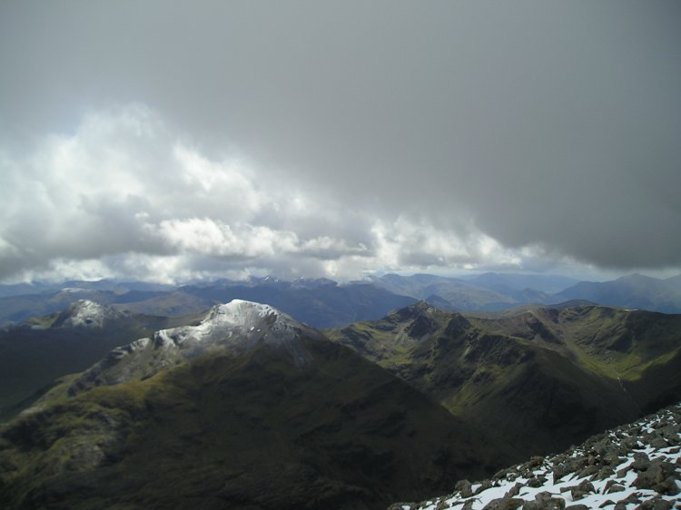 Views from the top of Ben Nevis